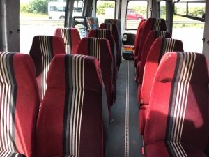 16 seater marvel interior