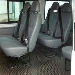 16 seater interior
