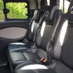 luxury 8 seater interior