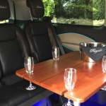 luxury 8 seater interior