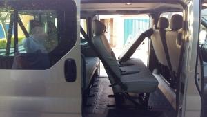 8 seater interior